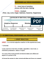 4. Emotional Responses and Mood Disorders
