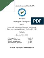 la contaminacion del agua en nagua periodo 2014-2015.docx