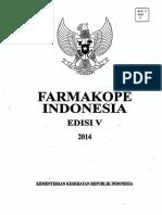 Farmakope Indonesia v - Jilid 1