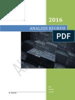 Pengantar Statistika ReGresi