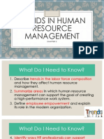 Trends in Human Resource Management