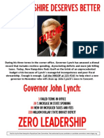 Anti-Lynch flyer at Tea Parties