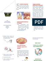 leaflet karang gigi
