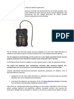 Portable Platform for Advanced Electro-Medical Applications