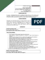 CV of Mustafa Sajjadul Islam