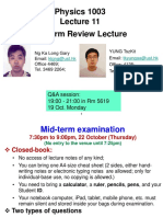 L11 Midterm Review Lecture With Answer