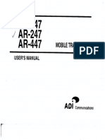 Manual de Radio ADI-AR -147_user