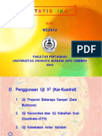 06 Statistika - Uji Kai Kuadrat