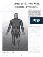 Fitness Issues for Divers With Musculoskeletal Problems Part1