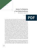 Traverso Enzo.Marx,la historia y los historiadores.Una relacion a reiventar.pdf