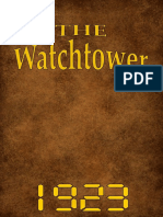 The Watch Tower - 1922 issues