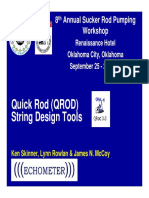 2 2 Presentation Echometer QRod Design Tools