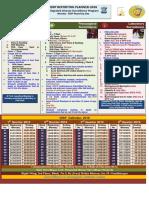 IDSP Calendar 2016