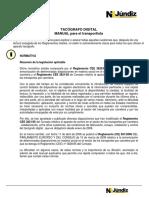 Manual Del Tacografo Digital