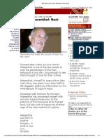 BBC News _ UK _ Simon Wiesenthal_ Nazi-hunter