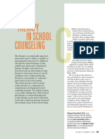 Play Therapy in School Counseling