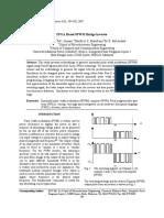 FPGA Based Inverter