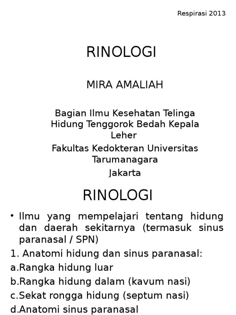 Rinologi