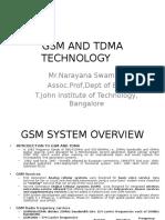 GSM and TDMA