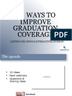 10 Ways to Improve Local Graduation Coverage