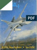 F-104  vs  Su-24