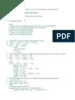 Soal-soal Reaksi Reduksi Oksidasi Dan Ja
