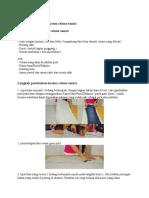 Bahan Dan Cara Pembuatan Celana Santai
