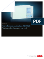1MRK504086-UEN C en Technical Reference Manual Transformer Protection IED RET 670 1.1