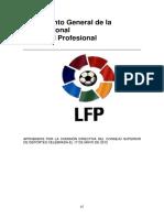 Reglamento General de La Liga Nacional de Futbol Profesional