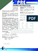 TEMA05 - Operadores Matemácticos