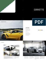 2015 Corvette Brochure