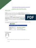 Cobrar Dinero de Paypal en Bolivia