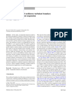 Numerical Modeling of Oscillatory Turbulent Boundary Layer Flow and Sediment Suspension