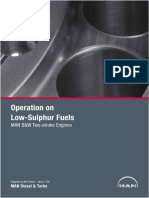 Operation on Low Sulphur Fuels