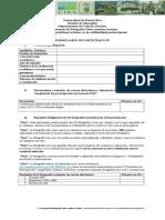 Formulario de participación del Primer Certamen de Fotografía Sobre Asuntos Sociales