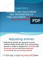 CHAPTER 6 - Accrual and Prepaymentskd