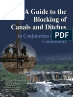 Canal Blockings in Peatland Area (English)