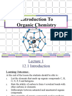LECTURE 5 a - Introduction to Ogranic Chemistry