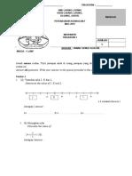 Matematik Pt3 Ujian Bula Mac 2015