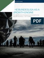 Mckinsey Bundesliga as a Growth Engine