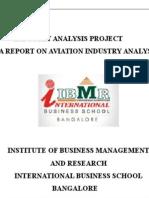 Industry Analysis Project (indigo)