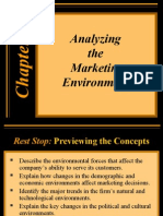 Analyzing the Marketin Environment