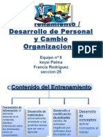 1S09 25 Exposic6 Entrenamvy Cambio Resumen
