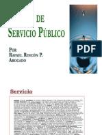 Noción de Servicio Público