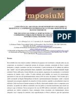 A influência da argamassa de revestimento com saibro na resistência à compressão em prismas de alvenaria resistente de blocos cerâmicos