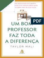 Um Bom Professor Faz Toda a Dif - Taylor Mali
