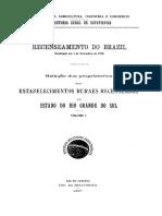 Listagem de propriedades agrícolas no Rio Grande do Sul em 1920 .IBGE 1920