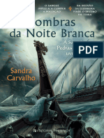 Sombras Da Noite Branca - Sandra Carvalho