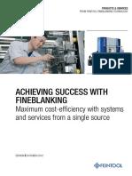 FTL Broschuere Fineblanking Technology En