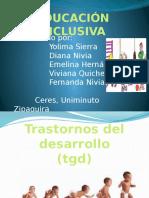 Diapositivas de Educación Inclusive